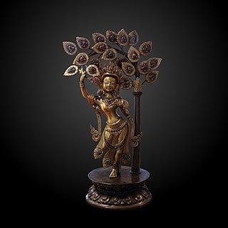 Nepalese (Madhesi) Queen of Shakya Republic from Devadaya of Nepal in Koliya Kingdom