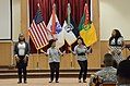 Mayne Attraction, a female choir from Fayetteville State University, perform during Team Bragg Women's History Month celebration 140328-A-UK859-507.jpg