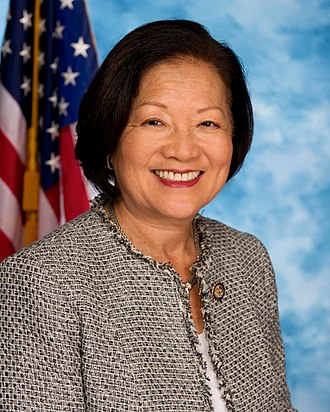 2012 United States Senate election in Hawaii - Image: Mazie Hirono, official portrait, 112th Congress