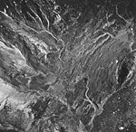 McBride Glacier, remnent area with striations in the rocks and outwash, August 24, 1963 (GLACIERS 5649).jpg