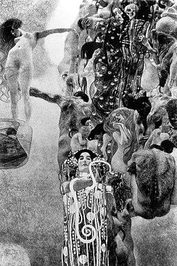 Medicine by Gustav Klimt