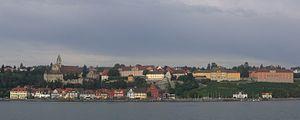 Meersburg - Image: Meersburg panor 2