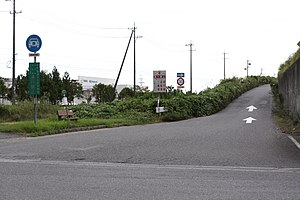 Meihan National Highway Shirakashi IC-01.jpg
