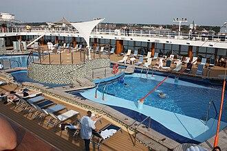 Marella Explorer - The ship's pool deck, 2009