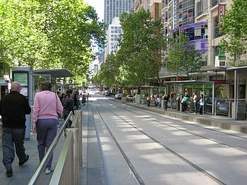 Melbourne CBD-CollinsSt West