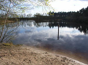 Maas-Schwalm-Nette Nature Park - Lake on the Dutch-German border