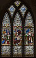 Melton Mowbray, St Mary's church, window (44687125095).jpg
