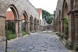 Ruins of St. Mary's Church