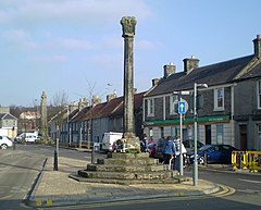 Das Mercat Cross in Kincardine