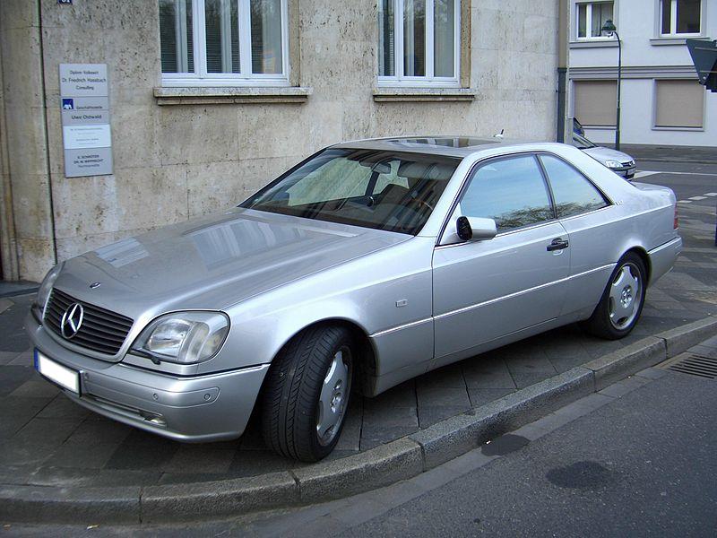 Mercedes benz cl600 c140 1991 1998 frontleft 2008 04 18 for Mercedes benz cl 240