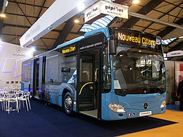 De nieuwe Citaro (facelift 2011).  Bus of the Year 2013
