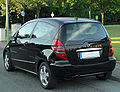 Mercedes A-Klasse Coupé Avantgarde (C169) rear 20100719.jpg