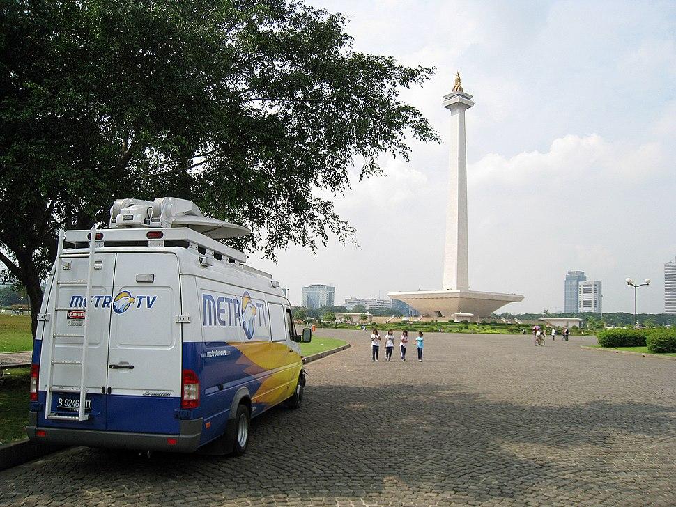 Merdeka Square Monas News Van