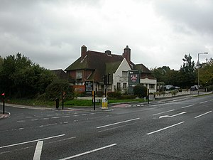 Oakley, Dorset - Image: Merley, The Willett Arms geograph.org.uk 1551933