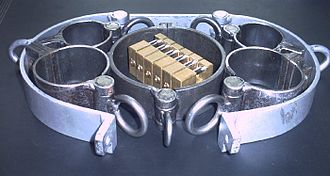 Self-bondage - Professional metal cuffs set for bondage and self-bondage purposes