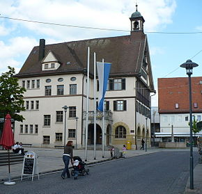 Metzingen in May 2008