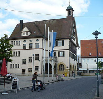 Metzingen - Metzingen in May 2008