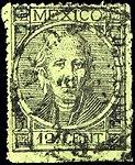 Mexico 1868 12c Sc66 used.jpg