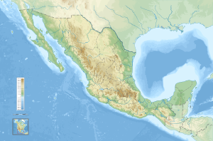 Topography of the United Mexican States