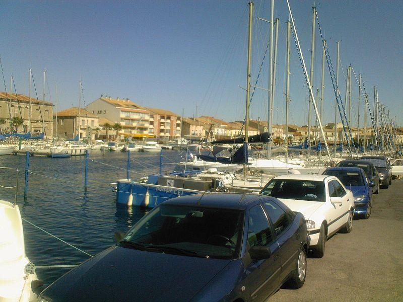 Mèze (Hérault), le port