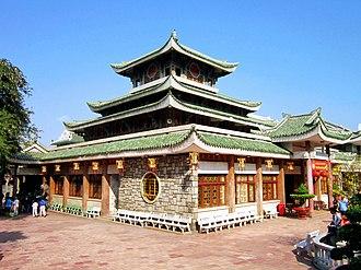 Bà Chúa Xứ - Temple of Bà Chúa Xứ Núi Sam today