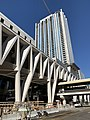 MiamiCentral Construction Brightline Station Downtown Miami (31420120447).jpg