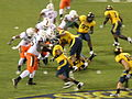 Miami on offense at 2008 Emerald Bowl 09.JPG