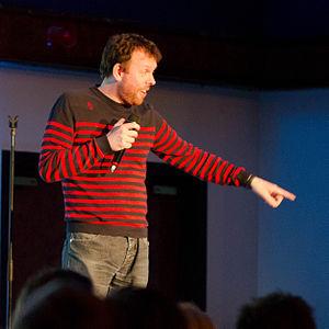 Michael Legge (comedian) - Legge in 2013