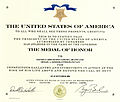 Michael Monsoor Medal of Honor certificate.jpg