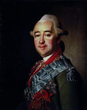 Mikhail Krechetnikov - Dmitry Levitzky, Mikhaïl Kretchetnikov (Hermitage Museum)