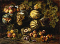 Michele Pace del Campidoglio - Still Life with Melons, Peaches, Figs, and Grapes - Google Art Project.jpg
