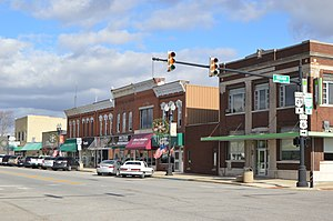 Edgerton, Ohio - Michigan Ave. north of Indiana St.