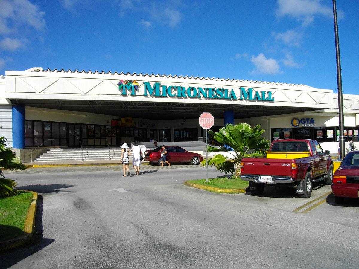 micronesia shopping mall, gta, parking lot