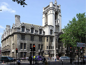 Courts of England and Wales - The Middlesex Guildhall houses the Supreme Court of the United Kingdom and Judicial Committee of the Privy Council