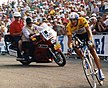 Miguel Indurain au prologue du Tour de France 1993.