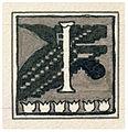 Mikalojus Konstantinas Ciurlionis - Initial I - 1908.jpg