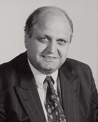 Fourth Labour Government of New Zealand - Image: Mike Moore, 1992 (crop)