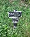Milepost by the Shropshire Union Canal, near Market Drayton - geograph.org.uk - 257605.jpg