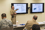 Military medical personnel trained for Ebola 141022-F-WJ663-014.jpg