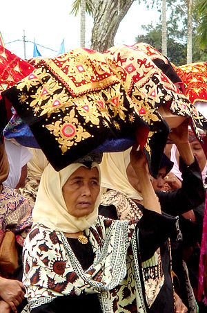 West Sumatra - Minangkabau woman
