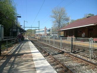 Miquon, Pennsylvania - Image: Miquon Station