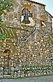Mission San Miguel, California - rock wall and bell.jpg
