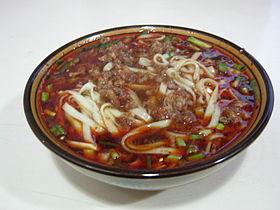 Mixed sauce noodles