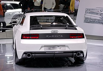Audi Quattro - Audi quattro Concept at the 2010 Paris Motor Show