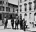 Montevarchi people in Mazzini square.jpg