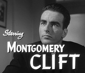 I Confess (film) - Montgomery Clift in the I Confess film trailer