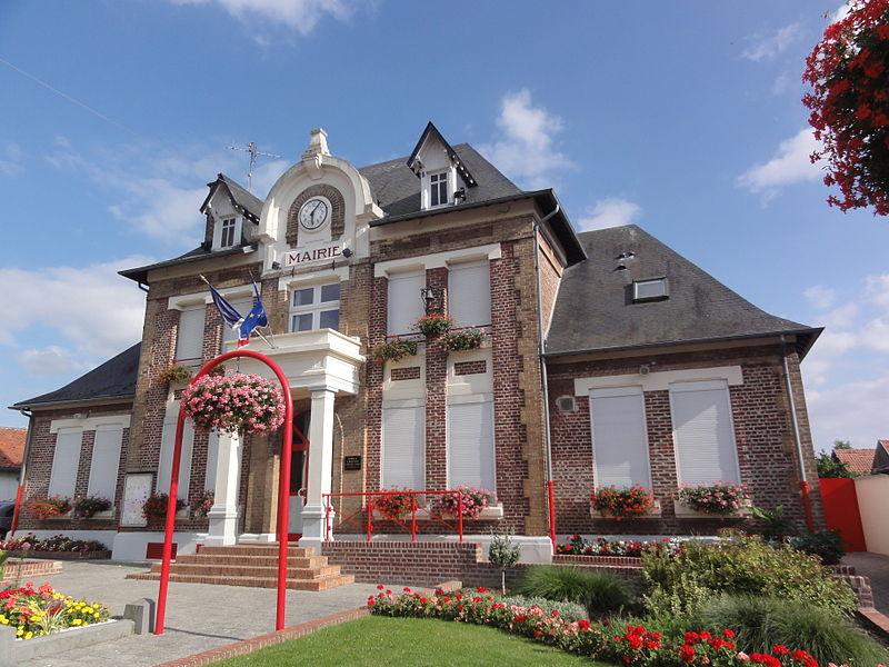 Morcourt (Aisne) mairie