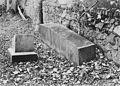 Mortsafe in Banchory Devenick graveyard, Aberdeenshire. Wellcome M0015246EA.jpg