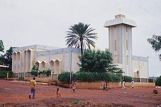 Kati, Mali - Kati Mosque.