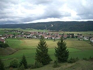Mouthe Commune in Bourgogne-Franche-Comté, France
